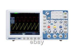Peaktech P1310 Digital Storage Oscilloscope 125 MHz 2 Channel 1 GSa/s