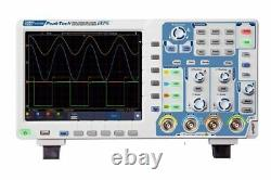Peaktech P1375 Digital Storage Oscilloscope 100MHz 4 Channels 1 GS/s DSO