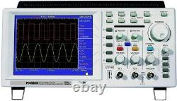 Portable DIGITAL OSCILLOSCOPE 2Ch OWON 25MHz 7.8 Color TFT LCD Storage Scope USB