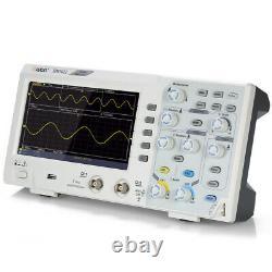 SDS1022 Oscilloscope Oscillometer Digital Storage 2CH 20MHz 100MS/s 7 LCD D3B4
