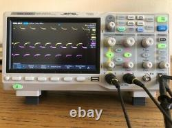Siglent 1202X-E 200MHz Digital Storage Oscilloscope with 2 probes