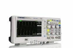 Siglent Technologies SDS1102CML+ Digital Storage Oscilloscope, 100 MHz