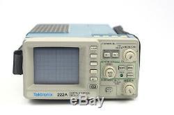 TEKTRONIX 222A DIGITAL STORAGE OSCILLOSCOPE With One Probe