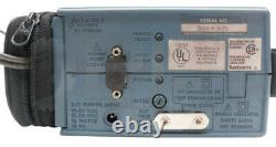 TEKTRONIX 222 DIGITAL STORAGE OSCILLOSCOPE With CASE & PROBES 222 RS-232