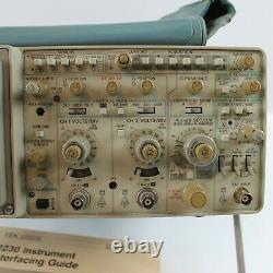 TEKTRONIX 2230 100 MHz DIGITAL STORAGE OSCILLOSCOPE FOR PARTS OR REPAIR ONLY