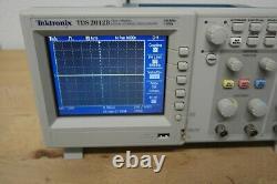 TEKTRONIX TDS2012B 2Channel 100MHz 1 GS/s Digital Storage Oscilloscope tds 2012b