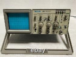 Tektronix 2201 With Option 12 Digital Storage Oscilloscope