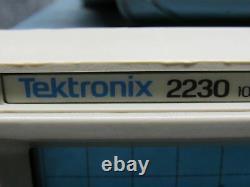 Tektronix 2230 100MHz Digital Storage Oscilloscope Tested