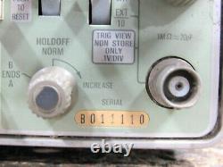 Tektronix 468 2-Channel Analog/Digital Storage Oscilloscope 100/10MHz For Repair