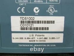 Tektronix TDS 1002 Two Channel 60MHz Portable Digital Storage Oscilloscope 1GS/s