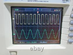 Tested Agilent DSO3102A 100MHz 1GSa/s Two-Channel Digital Storage Oscilloscope