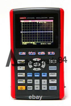 UNI-T UTD1025DL Handheld Digital Storage Oscilloscopes 25MHz 2 Channels 250MS/s