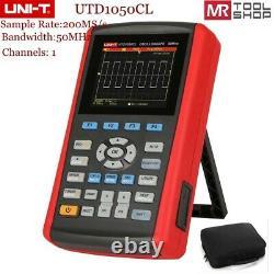 UNI-T UTD1050CL Handheld Digital Storage Oscilloscope 50MHz Multimeter USB LCD
