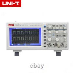 UNI-T UTD2025CL Digital Storage Oscilloscopes 2CH 25MHZ Scopemeter 7''widescreen