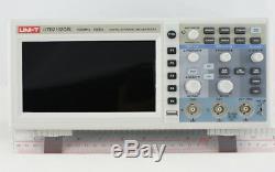UNI-T UTD2102CEX 100MHZ Digital Storage Oscilloscope 1G Sa/s USB many languages