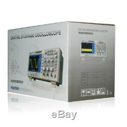 USB Digital Storage Oscilloscope 2 Channels 100MHz 1GSa/s Color Display DSO5102P
