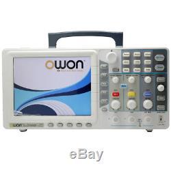 Ultra-thin 30Mhz OWON Digital Storage Oscilloscope SDS5032E 250Mhz/s 8 TFT VGA