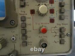Vintage Gould Digital Storage Oscilloscope OS4100 Works AS-IS