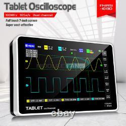 1013d 7 Pouces 2ch Stockage Numérique Oscilloscope 100mhz Bande Passante 1gs Taux D'échantillonnage