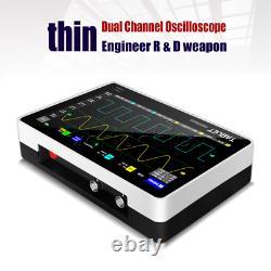 1013d 7\\inch 100mhz Affichage Bande Passante Numérique Fnirsi Stockage Oscilloscope