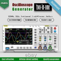 1014d 7 2oscilloscope De Stockage Numérique Pour Tablette De Canal 100mhz