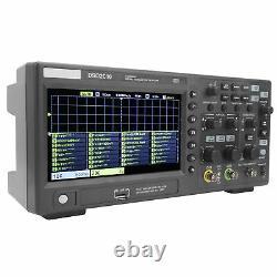 1gsa/s 2ch 7po LCD Digital Storage Oscilloscope 100mhz Bande Passante Dso2c10 Hantek
