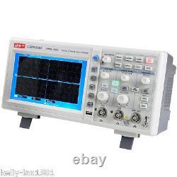 1pcs Uni-t Utd2102cex 100mhz Digital Storage Oscilloscope 1g Sa / S Usb Nouveau