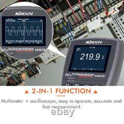 2in1 40mhz 200msps Stockage Numérique Portatif Oscilloscope Osc Scope Meter U3q3