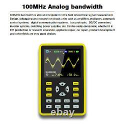 5012h 2.4inch 100mhz Analog Bandwidth Waveform Storage Oscilloscope Numérique Ips