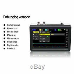 7 Pouces À Écran Tactile Numérique Tablet Oscilloscope 1 Go De Stockage 100mhz Bande Passante