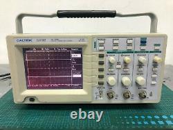 Caltek Ca1102 Deux Canaux De Stockage Numérique Oscilloscope 100mhz Equ 10gs/s