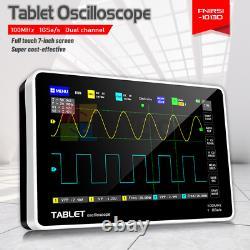 Digital Fnirsi Storage Oscilloscope Fft Display 1013d 7inch 2ch 100mhz Bande Passante