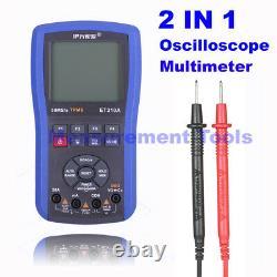 Et310a 2 En 1 20mhz 80msa Digital Handheld Storage Oscilloscope Multimeter Et201