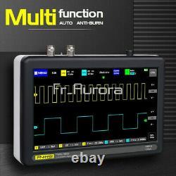Fnirsi 1013d 7inch 2ch Oscilloscope De Stockage Numérique 1gs 100mhz Bandwidth Rate