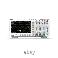 Fnirsi-1014d 2 Canaux De Stockage Numérique Oscilloscope 100mhz Générateur De Signal LCD