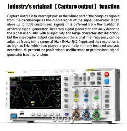 Fnirsi 1014d 2 En 1 7en Générateur De Signal D'entrée D'oscilloscope Numérique 1 Go De Stockage