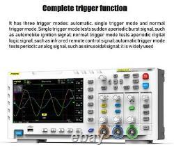 Fnirsi 1014d 7 Dans L'oscilloscope Numérique Tft Affichage LCD Dual Channels 1gb Stockage