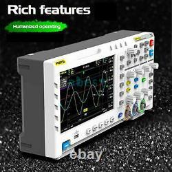 Fnirsi-1014d 7 LCD 2 Générateur De Signal De Canal Oscilloscope De Stockage Numérique H0v2
