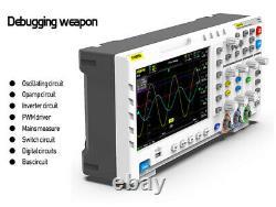 Fnirsi-1014d Oscilloscope De Stockage Numérique 100mhz 1gsa/s Générateur De Signal 7 LCD