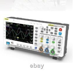 Fnirsi-1014d Oscilloscope De Stockage Numérique À Double Canal 100mhz 1gsa/s 7 Carte LCD