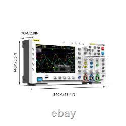 Fnirsi-1014d Tft Stockage Numérique Oscilloscope À Deux Canaux Générateur De Signal