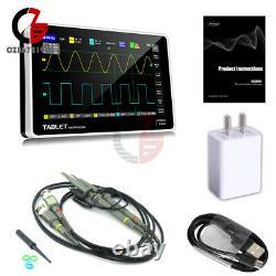 Fnirsi Oscilloscope De Stockage Numérique Affichage Fft 1013d 7inch 2ch 100mhz Bande Passante