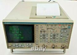 Gould Dso465 100mhz 200ms/sec Digital Storage Oscilloscope Avec Imprimante Intégrée