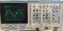 Gould Dso 465 Stockage Numérique Oscilloscope 200ms/sec 100mhz Avec Printre + Probes