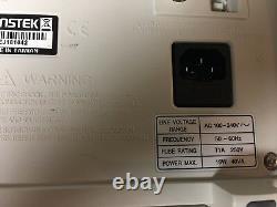 Gw Instek Gds-1022 25mhz 2-channel Digital Storage Oscilloscope Color Display