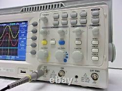 Gw Instek Gds-1052-u, Oscilloscope De Stockage Numérique 50 Mhz, 2 Ch, Couleur, Usb Prob