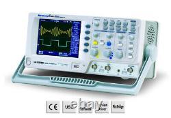 Gw Instek Gds-1102a-u Stockage Numérique Oscilloscope 100mhz 2 Canal Dso 1gs/s
