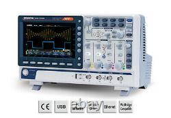 Gw Instek Gds-1102b Stockage Numérique Oscilloscope 100mhz Dso 2 Canal