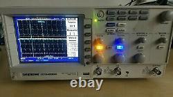 Gw Instek Gds-2062 Oscilloscope De Stockage Numérique 60mhz 1g Sa/s 2-chann. Couleur LCD