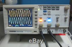 Gw Instek Gds-2102 100mhz 1gsa / Oscilloscopes De Stockage Numérique Avec Interface Usb